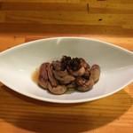 うなぎ源八 - 料理写真:肝煮
