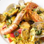 タンジェリン - 彩り魚介と野菜の炊き込みパエリア