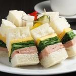 タンジェリン - 食べやすいプチサンド