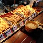 丸亀製麺 - メニュー(天ぷら)