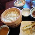 丸亀製麺 - 私の取ったやつ1170円