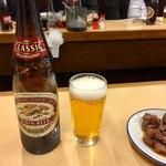 大はし - 生ビール(大) 500円