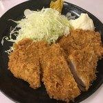 定食 稲 - カツ