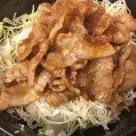 定食 稲 - 生姜焼き