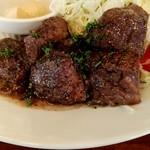 ステーキてっぺい - ランチハラミステーキ
