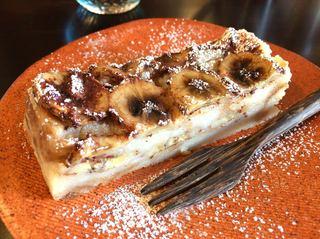 こーさんのうち - デザート「バナナとココナツミルクの米粉のケーキ」