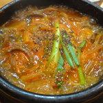 韓国食堂 - ユッケジャンスープ¥500