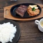 道楽かぬま ブルートステーキ - ブルートステーキ