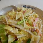 天龍 - 野菜たっぷり