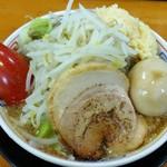 麺屋 登夢道 - 料理写真:味玉もやしらーめん(小) 720円