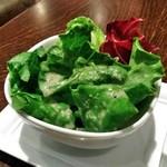 ザ サクラ ダイニング トウキョウ - [料理] グリーンサラダ ①