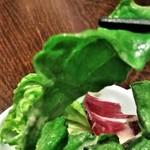 ザ サクラ ダイニング トウキョウ - [料理] グリーンサラダ ②