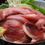 四季旬菜 ふくふく - まぐろ鍋