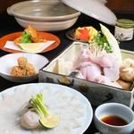 四季旬菜 ふくふく - ふぐコース