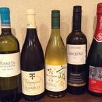 四季旬菜 ふくふく - ワイン各種