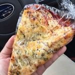 モンテ - ベーコンとトマトのピザ