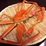 四季旬菜 ふくふく - 松葉蟹