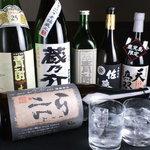 四季旬菜 ふくふく - 焼酎各種