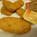 マクドナルド - チキンマックナゲット、ハッシュポテト+期間限定しょうが醤油・タルタルソース