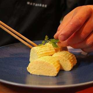 日本料理で修業した若き料理長♪