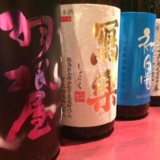 人気の日本酒が揃ってます!!