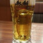 まぐろ商店 - 生ビールはスーパードライ550円