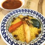 クスクス - 野菜のクスクス / サラダ付(税別800円)