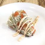 クスクス - ランチセットのマスモータ(チュニジア風ポテトサラダ)