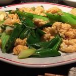 TAPAS桜台 - 九条ネギと卵炒め