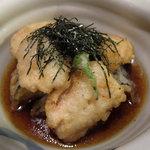 魚楽唐唐 - 穴子と茄子の揚げだし(2011.6)