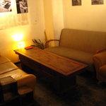 ブッカート カフェ - 奥のソファー