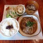 2tone cafe - 和風ハンバーグランチ