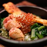 81831414 - 鮭といくらの海鮮茶漬け+炙り明太子 980円