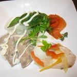 Bar&Cafe 炭火焼 ドン・ガバチョ - プレミアムコース(前菜3種)