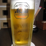 Bar&Cafe 炭火焼 ドン・ガバチョ - 飲み放題(生ビール アサヒスーパードライ)