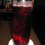 Bar&Cafe 炭火焼 ドン・ガバチョ - 飲み放題(カシスソーダ)