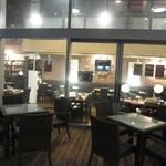 Bar&Cafe 炭火焼 ドン・ガバチョ - 2018年の外観(テラス席)