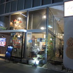 Bar&Cafe 炭火焼 ドン・ガバチョ - 2018年の外観(バスターミナル側入口)