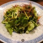手包み餃子バル CHANJA - パクチーサラダ