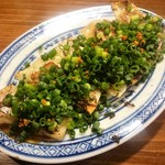 手包み餃子バル CHANJA - 葱味噌焼き餃子