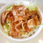 グリルおおくぼ - 焼肉丼 ¥545
