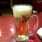 上海料理 随苑 - 生ビール:250円税別