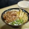 立花うどん - 料理写真:肉ゴボウ