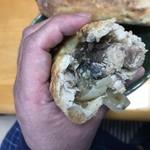 詩とパンと珈琲 モンクール - 鯖バゲットはこんな感じ
