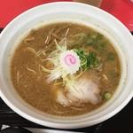 拉麺 大公 - 料理写真:「生姜中華そば 味噌」900円(小田急新宿店「うまいものめぐり」)