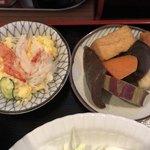 寿味 - 2018.2.6  ミックスフライ定食〜小鉢