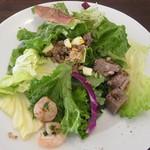 ビストロ天下井 - ランチ サラダ