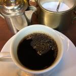 珈琲西武 - セットのホットコーヒー