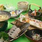 吉長 - 夏のはも料理