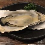 あっけし - 焼牡蠣(Lサイズ) ¥290